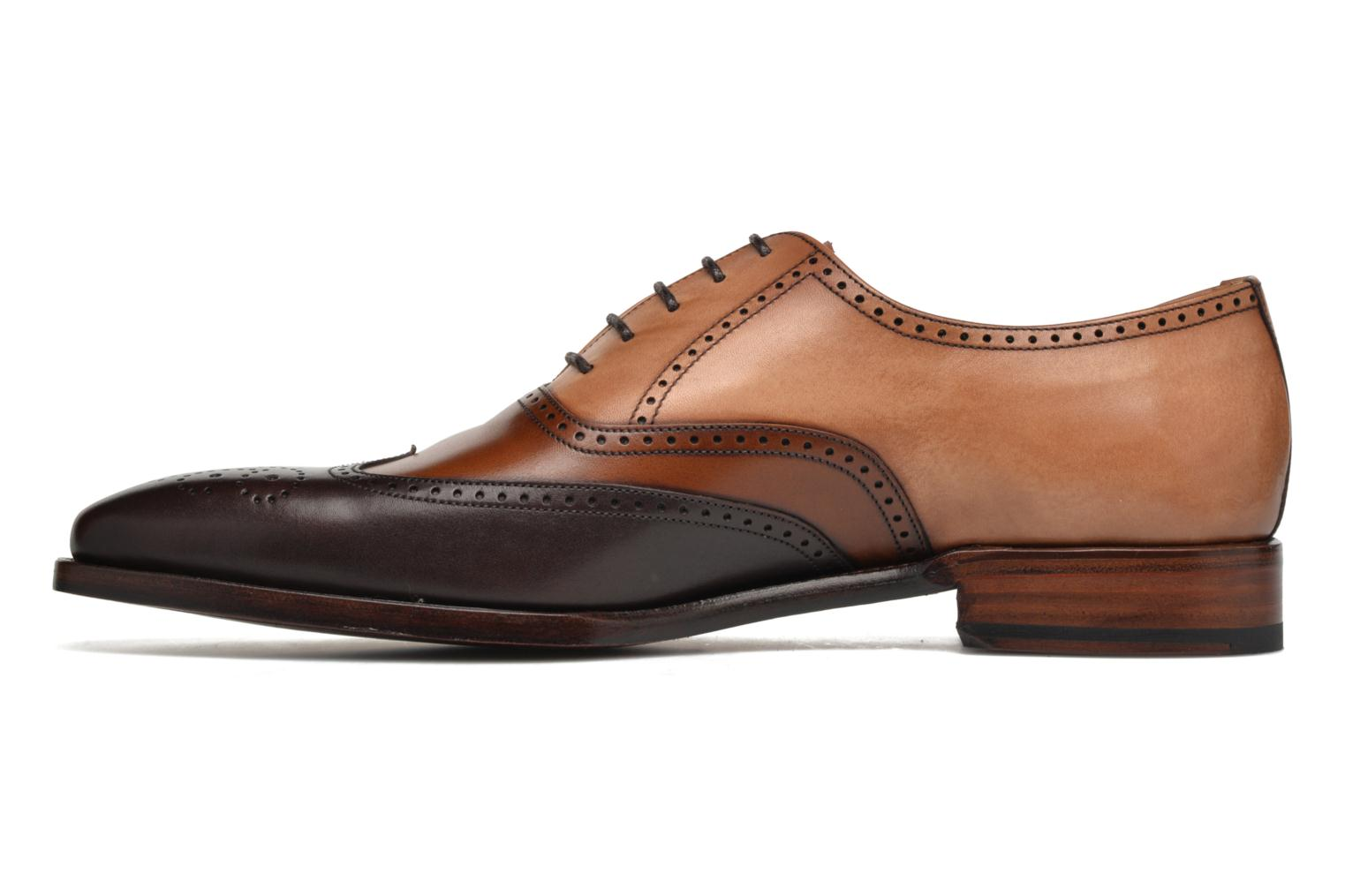 Chaussures à lacets Marvin&Co Luxe Walton-on - Cousu Goodyear Marron vue face