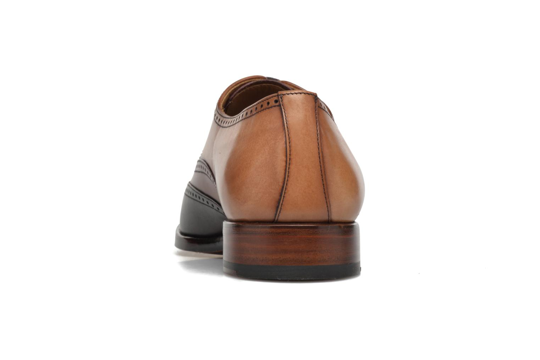 Chaussures à lacets Marvin&Co Luxe Walton-on - Cousu Goodyear Marron vue droite