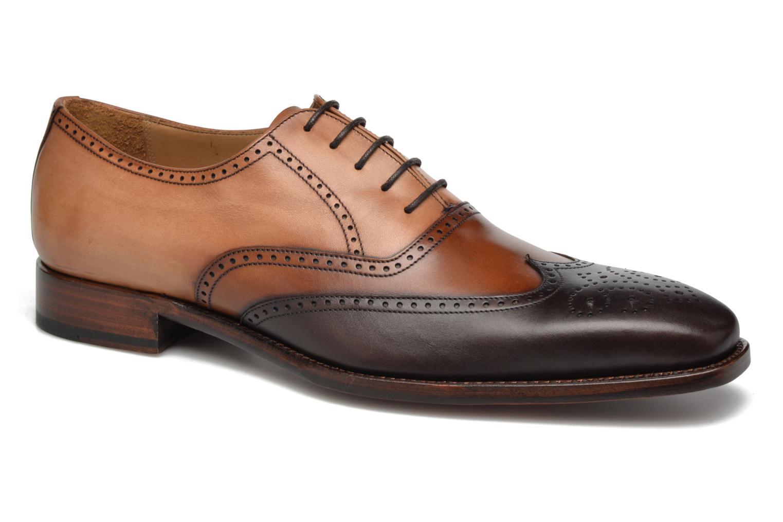 Chaussures à lacets Marvin&Co Luxe Walton-on - Cousu Goodyear Marron vue détail/paire