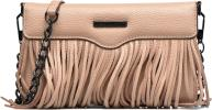 Fringe Leather crossbody phone holder