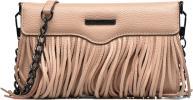 Fringe Leather crossbody phone holder