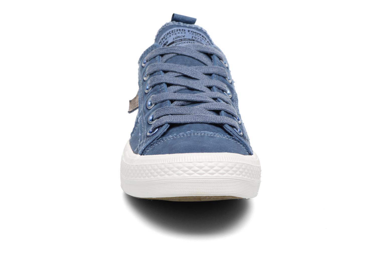 Baskets Dockers Irian Bleu vue portées chaussures