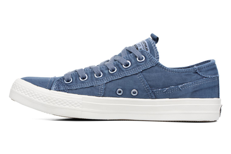 Baskets Dockers Irian Bleu vue face