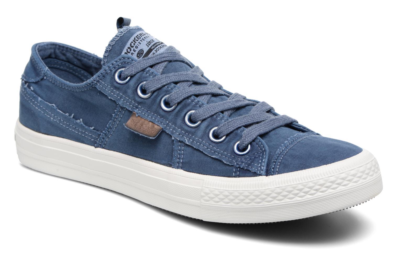 Baskets Dockers Irian Bleu vue détail/paire