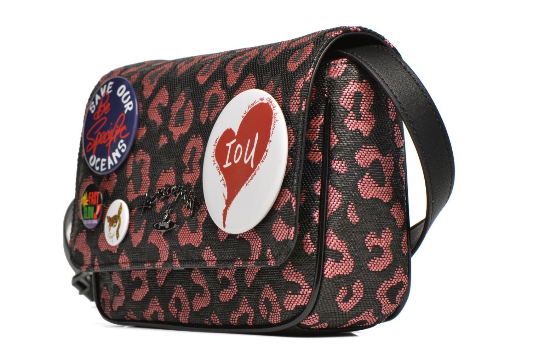 Sacs à main Vivienne Westwood Avon Bag Flap Rose vue portées chaussures
