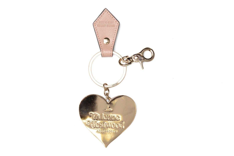 Divers Vivienne Westwood Mirror Heart Gadget Keyholder Rose vue portées chaussures