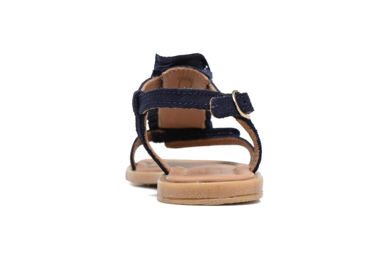 Sandali e scarpe aperte Bisgaard Jona Azzurro immagine destra