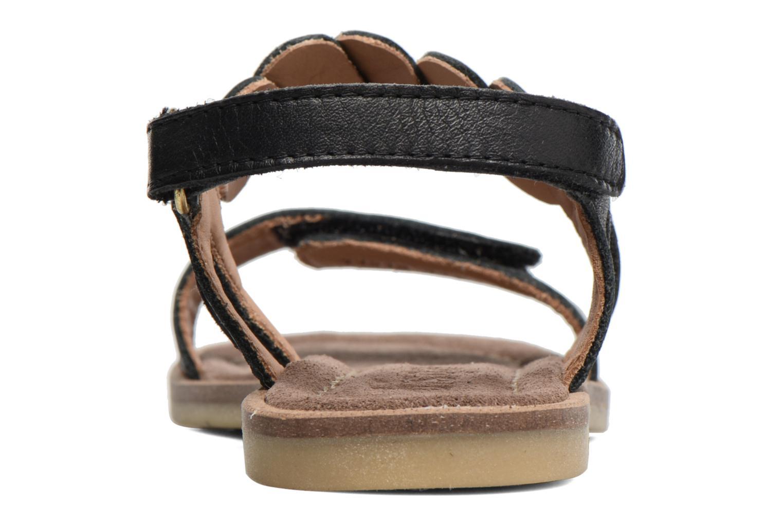 Sandales et nu-pieds Bisgaard Joe Noir vue droite