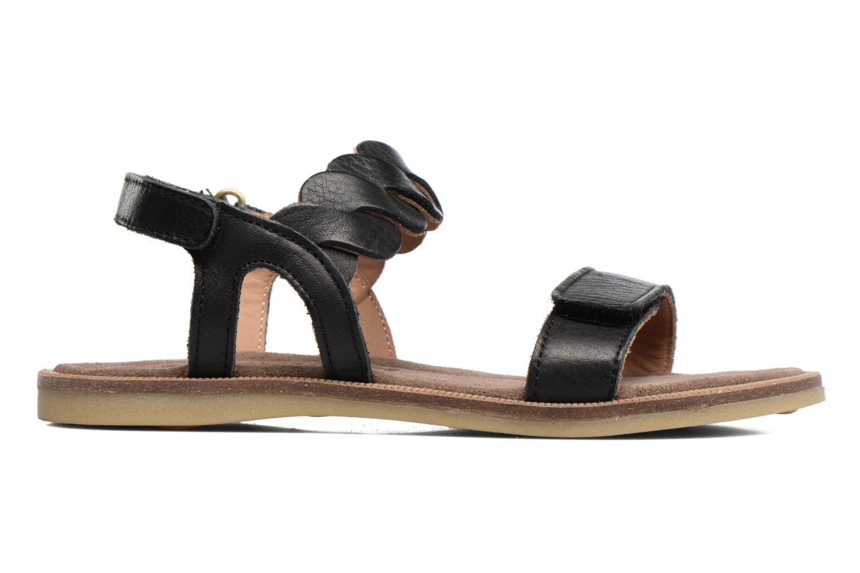 Sandales et nu-pieds Bisgaard Joe Noir vue derrière