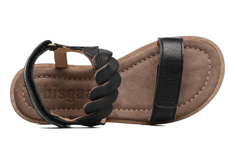 Sandales et nu-pieds Bisgaard Joe Noir vue gauche