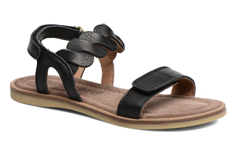Sandales et nu-pieds Bisgaard Joe Noir vue détail/paire