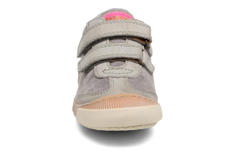 Baskets Bisgaard Keld Gris vue portées chaussures
