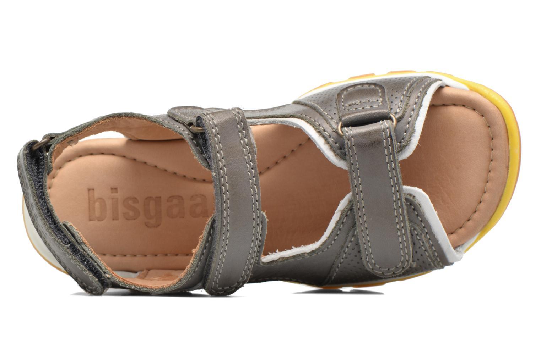 Sandales et nu-pieds Bisgaard Steen Gris vue gauche