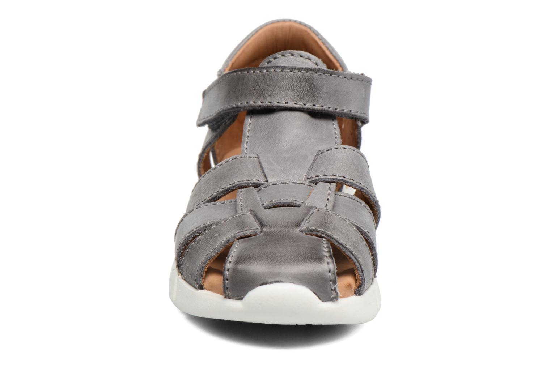 Sandales et nu-pieds Bisgaard Jister Gris vue portées chaussures