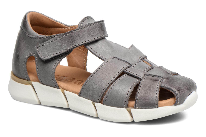 Sandales et nu-pieds Bisgaard Jister Gris vue détail/paire