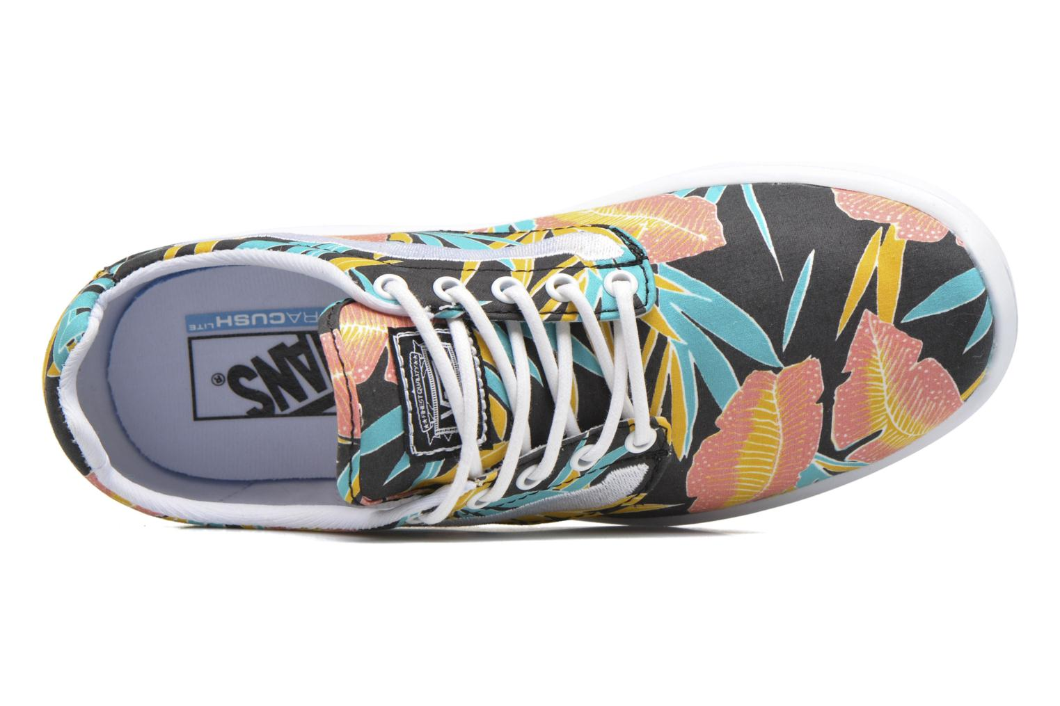 (Tropical Leaves) Black/True White Vans Iso 1.5 + (Multicolore)