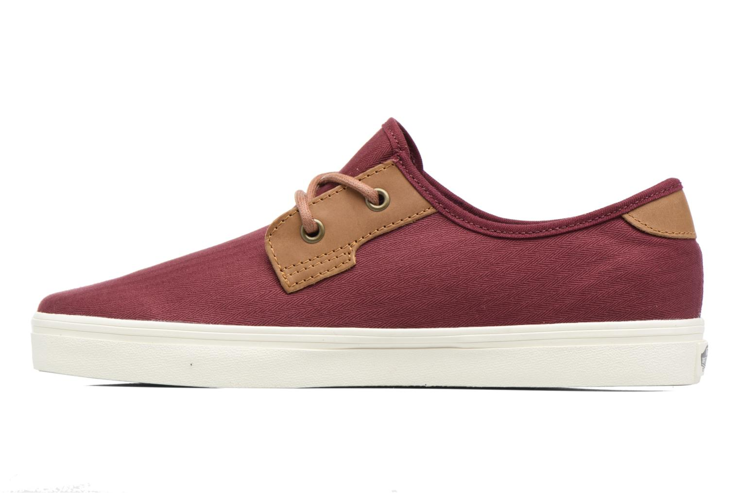 Baskets Vans Michoacan SF Bordeaux vue face