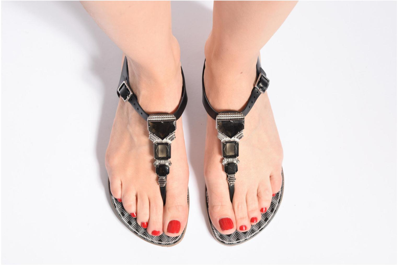 Sandals Grendha Jewel Sandal Black view from underneath / model view