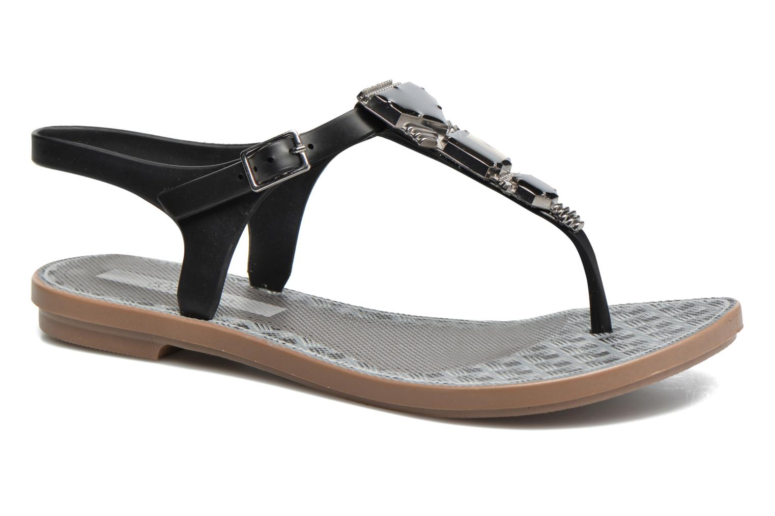 Jewel Sandal Brown/black