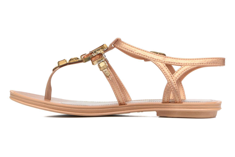 Sandales et nu-pieds Grendha Realce Sandal fem Bleu vue face