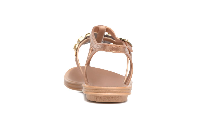 Sandales et nu-pieds Grendha Realce Sandal fem Bleu vue droite