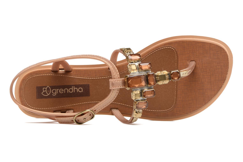 Sandales et nu-pieds Grendha Realce Sandal fem Bleu vue gauche