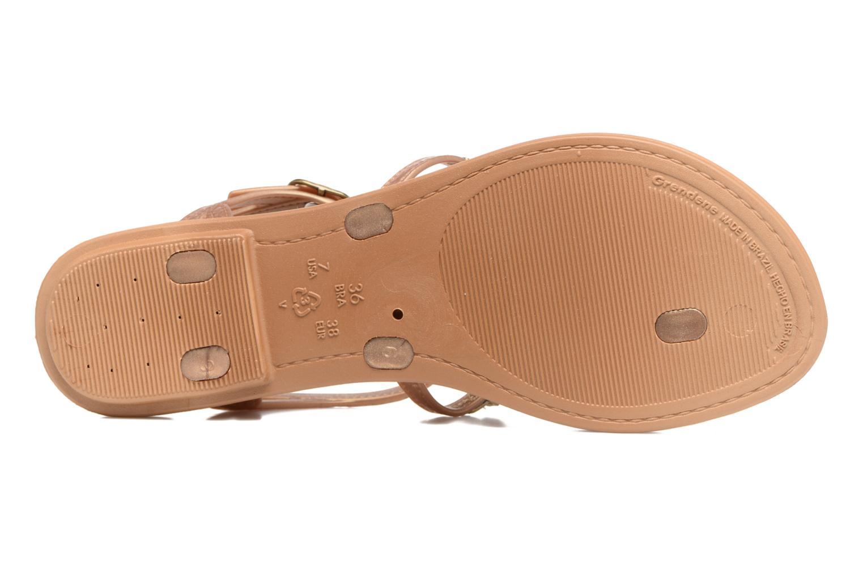Sandales et nu-pieds Grendha Realce Sandal fem Bleu vue haut