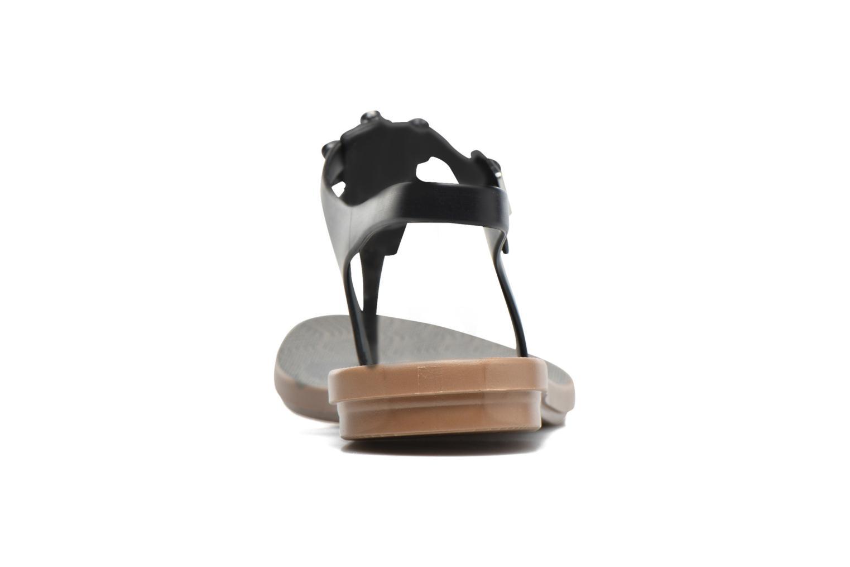 Sandalias Grendha Romantic Sandal Fem Negro vista lateral derecha