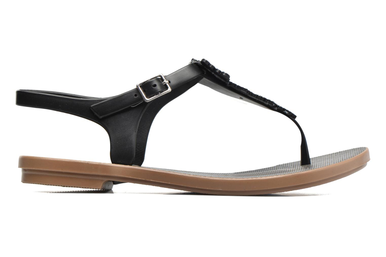 Sandales et nu-pieds Grendha Romantic Sandal Fem Noir vue derrière