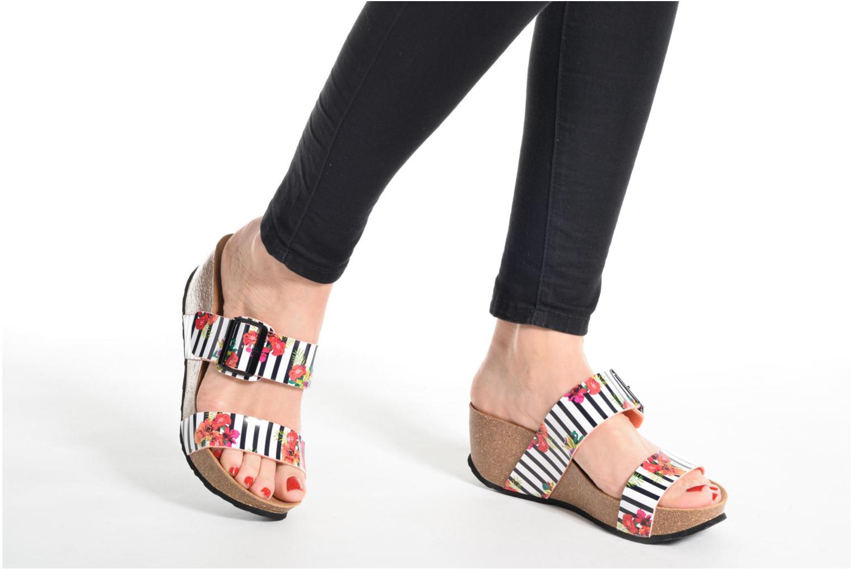 Sandalen Desigual SHOES_BIO 8 mehrfarbig ansicht von unten / tasche getragen