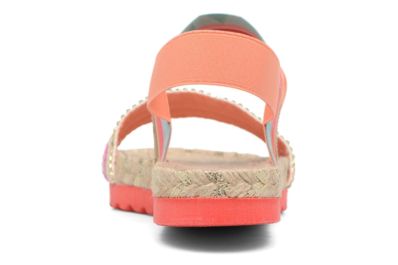 Sandalen Desigual SHOES_FORMENTERA Multicolor rechts