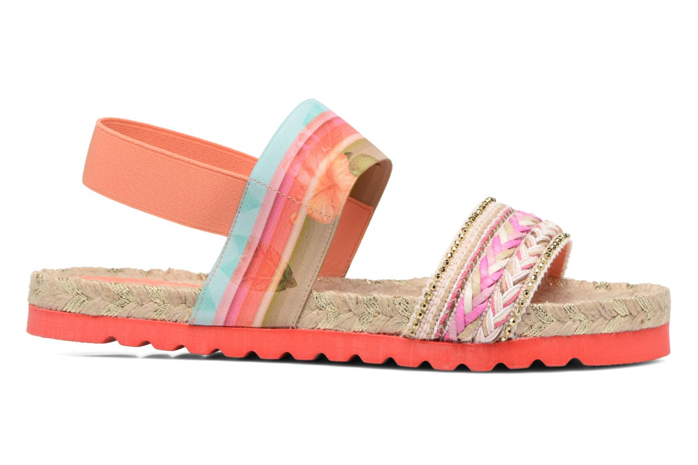 Sandals Desigual SHOES_FORMENTERA Multicolor back view