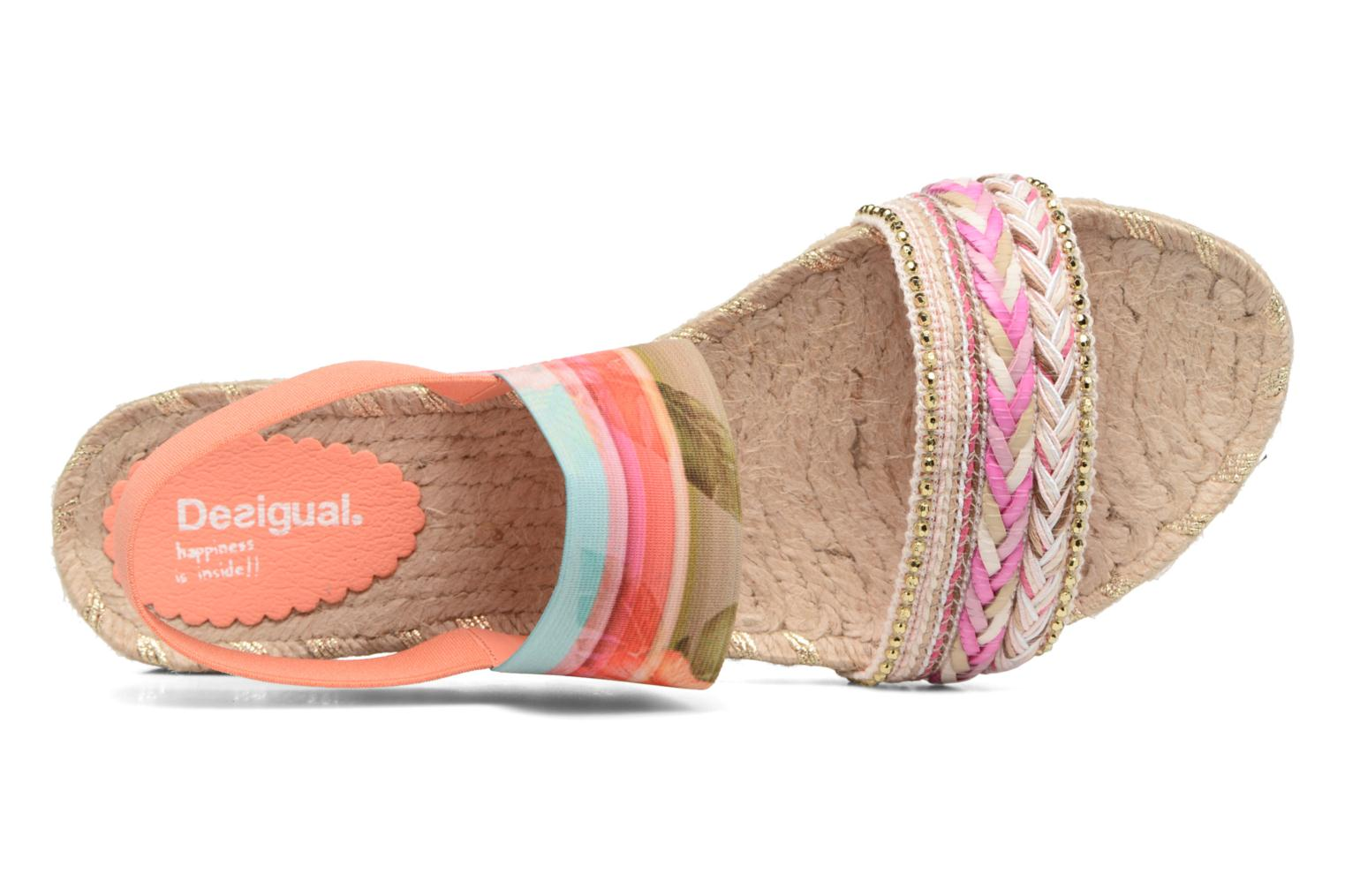 Sandals Desigual SHOES_FORMENTERA Multicolor view from the left