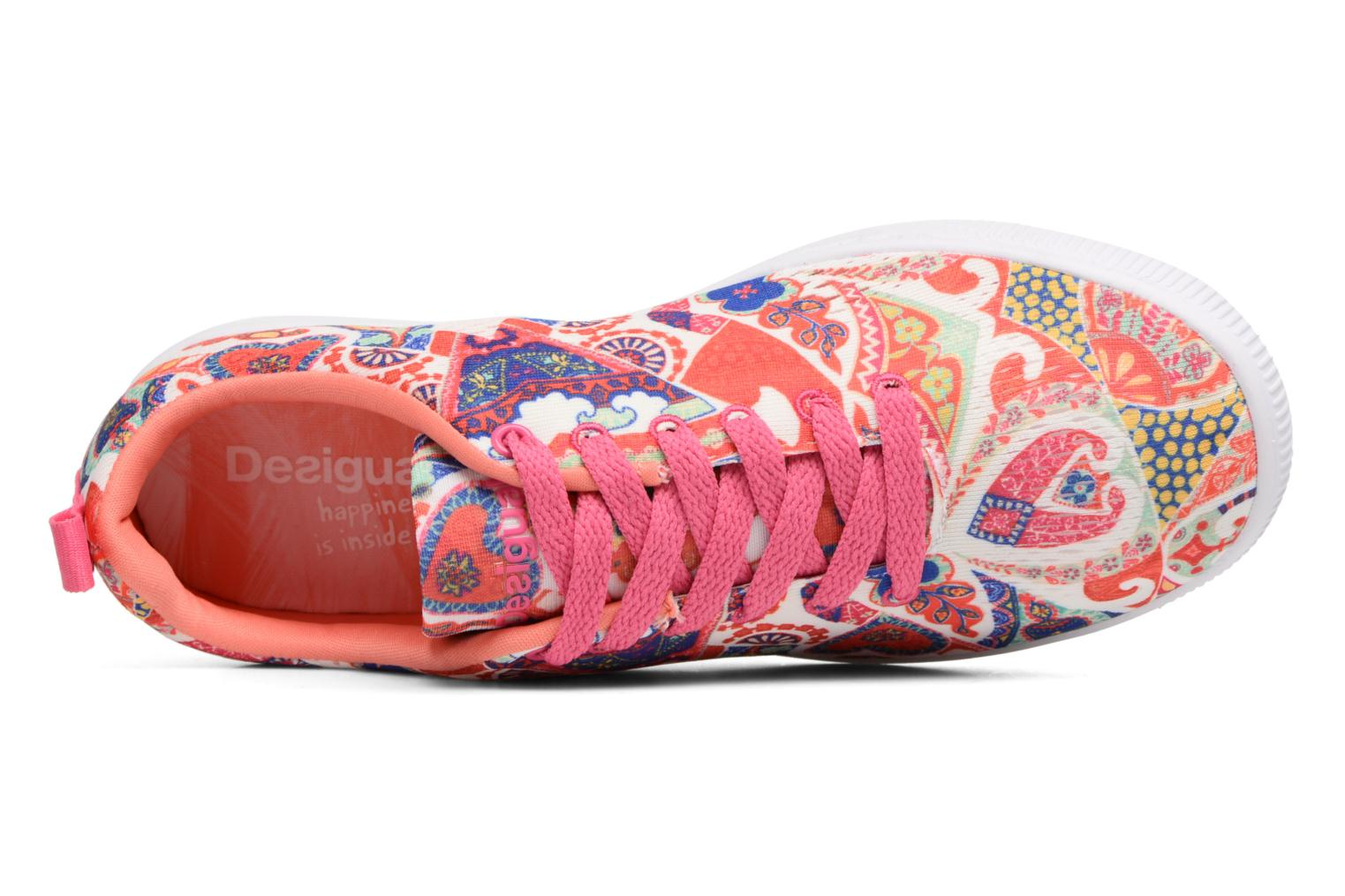 Baskets Desigual SHOES_CAMDEN Multicolore vue gauche