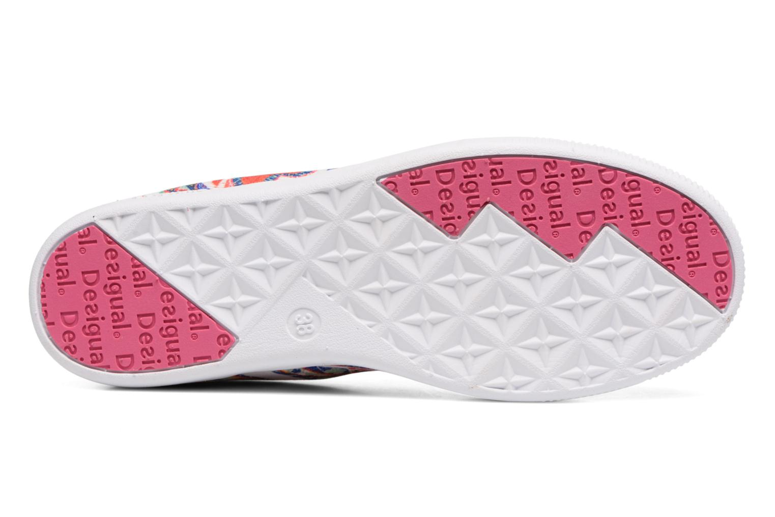 Baskets Desigual SHOES_CAMDEN Multicolore vue haut