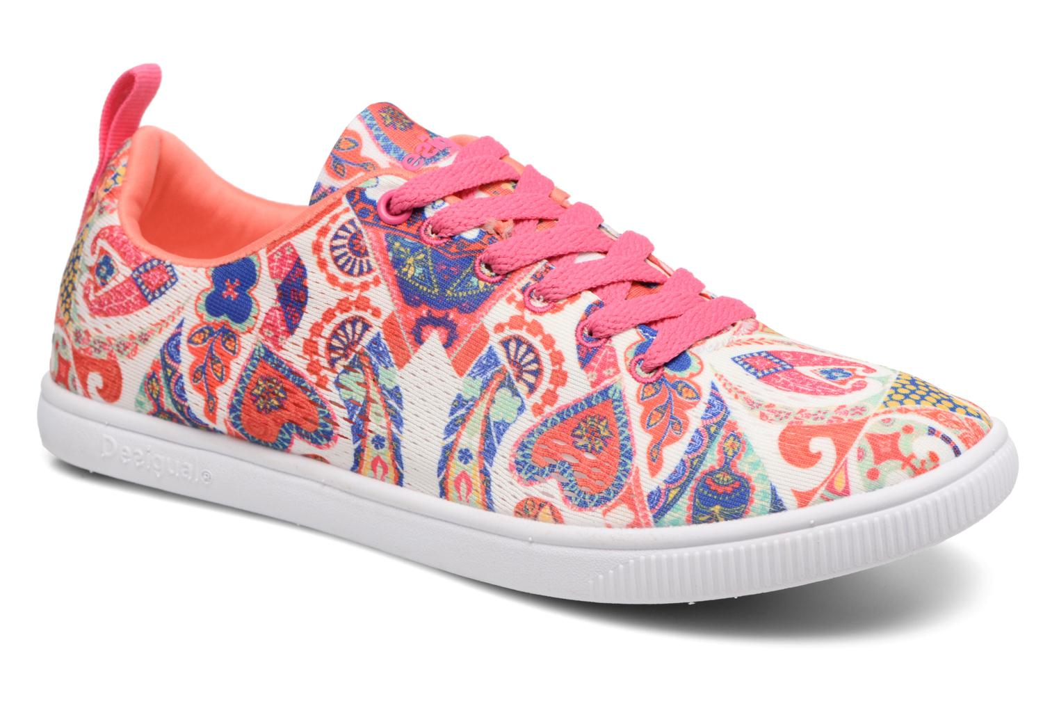 Baskets Desigual SHOES_CAMDEN Multicolore vue détail/paire