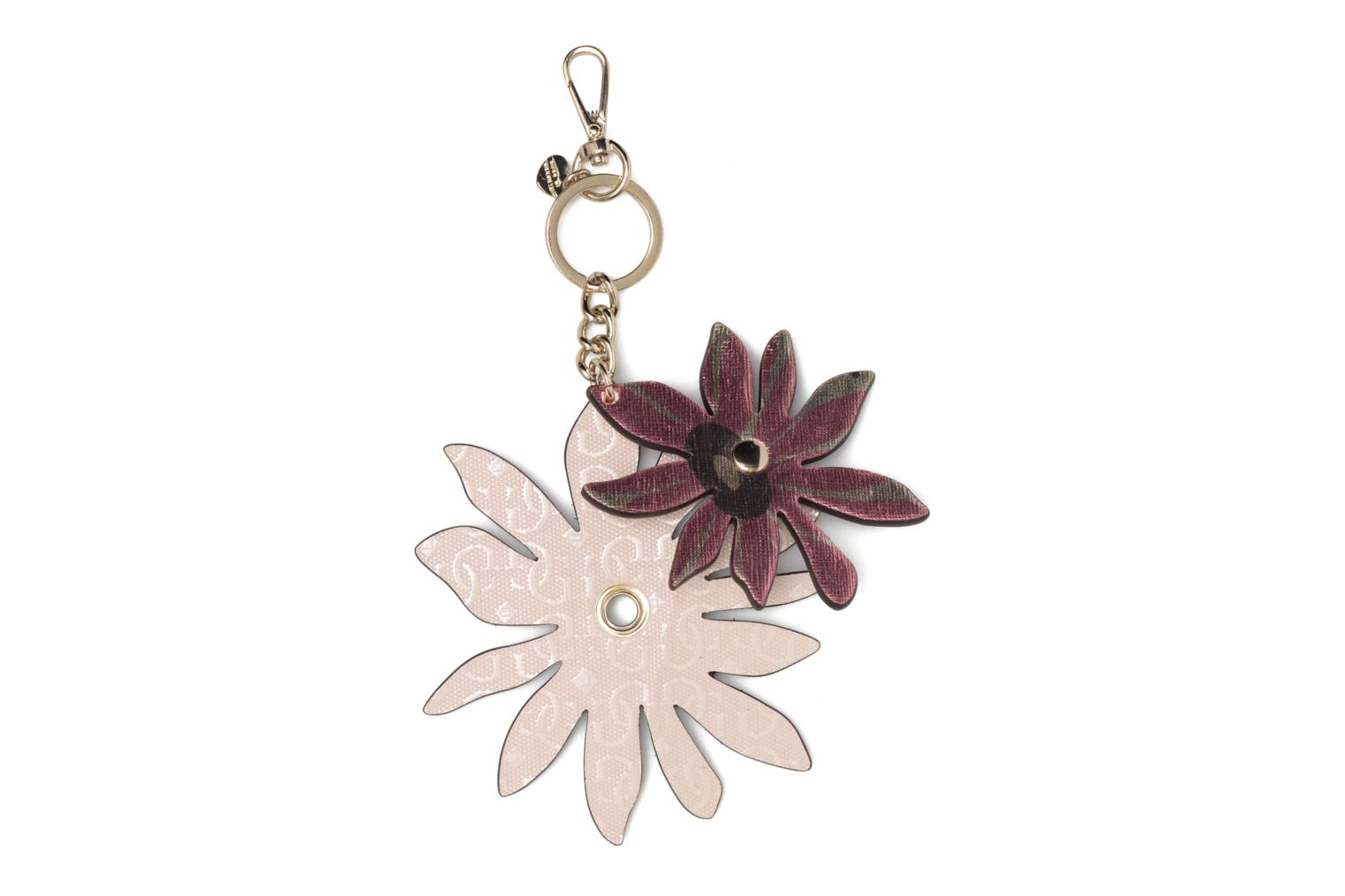 Miscellaneous Guess DEVYN KEYRING Flower keychain Pink model view