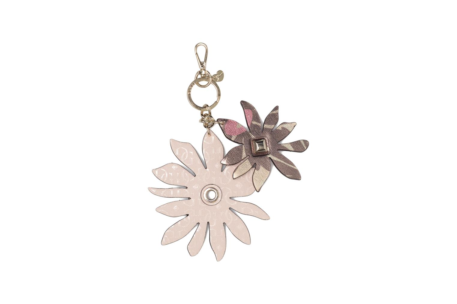 Miscellaneous Guess DEVYN KEYRING Flower keychain Pink detailed view/ Pair view