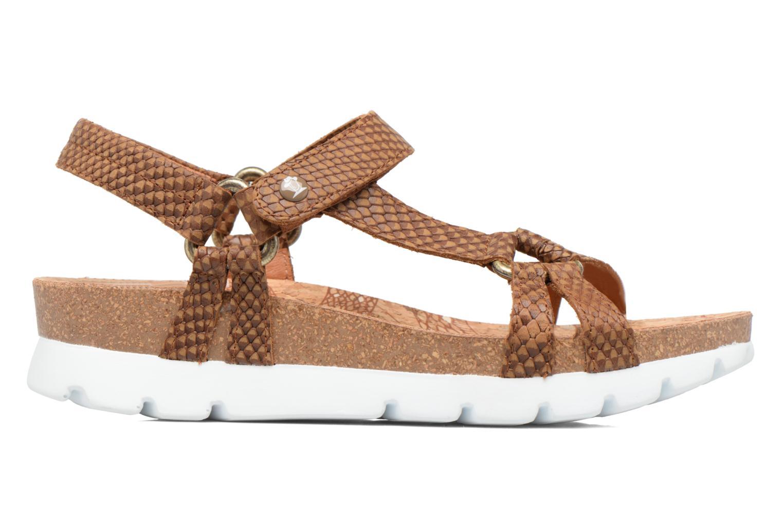 Sandales et nu-pieds Panama Jack Sally snake Marron vue derrière