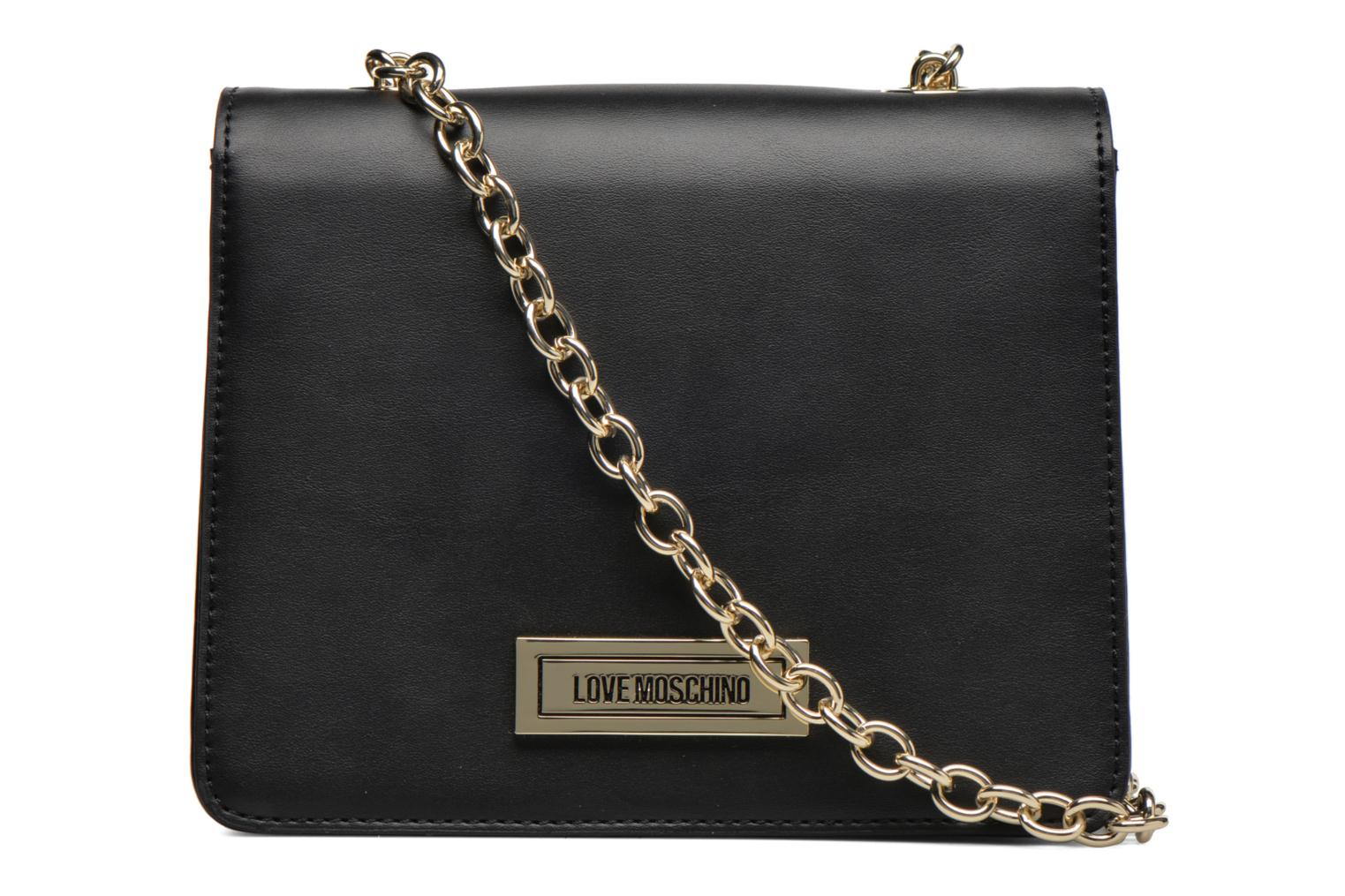 Sacs à main Love Moschino Melting love bag Crossbody Noir vue face