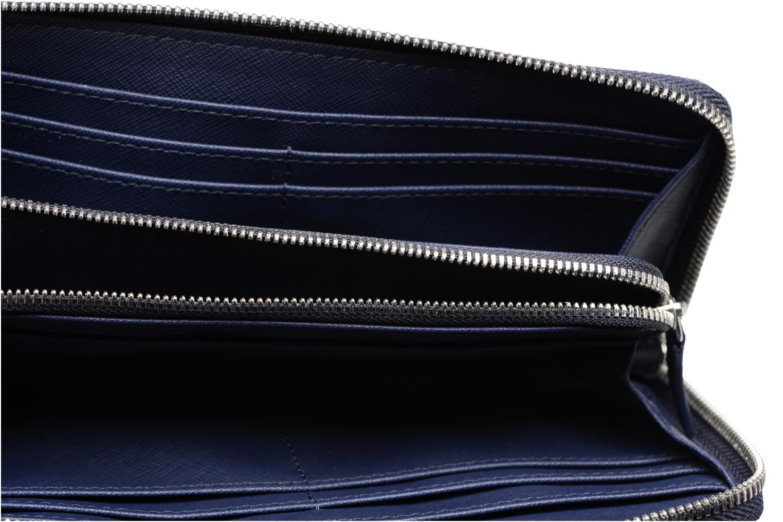 Petite Maroquinerie Lacoste Daily Classic Slim zip wallet Bleu vue derrière