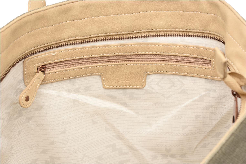 Handtaschen Les P'tites Bombes Cabas logo caviar grün ansicht von hinten