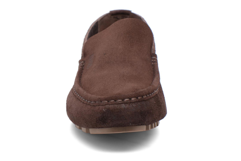 Mocassins Kenzo Lane Marron vue portées chaussures