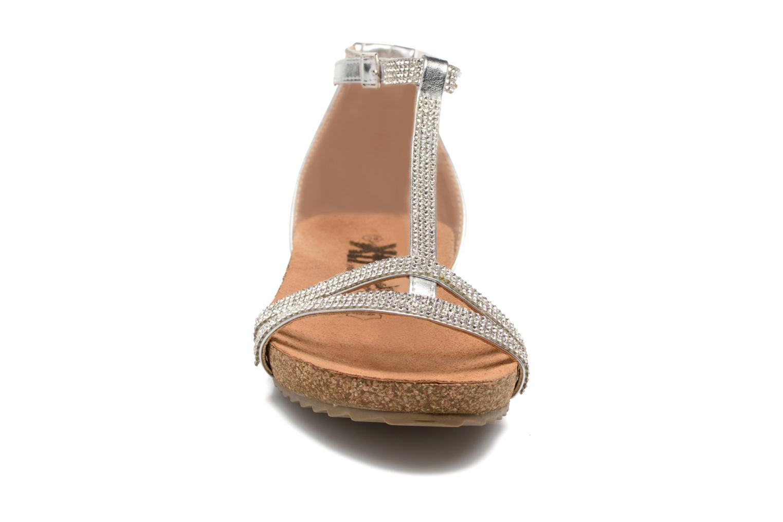 Sandales et nu-pieds Xti Bressea 46558 Argent vue portées chaussures