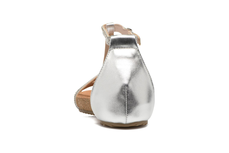 Sandales et nu-pieds Xti Bressea 46558 Argent vue droite