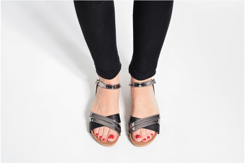 Sandales et nu-pieds Xti Bioda 33483 Noir vue bas / vue portée sac