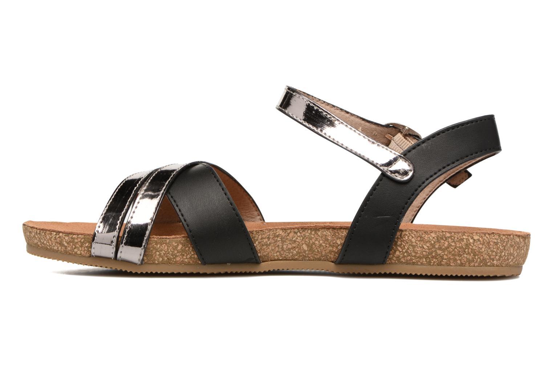 Sandales et nu-pieds Xti Bioda 33483 Noir vue face