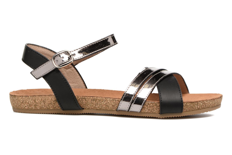 Sandales et nu-pieds Xti Bioda 33483 Noir vue derrière