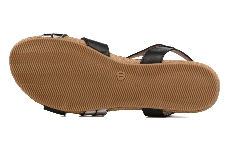 Sandales et nu-pieds Xti Bioda 33483 Noir vue haut