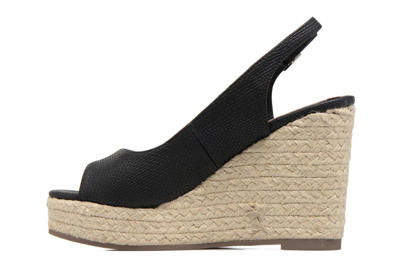 Sandales et nu-pieds Xti Mawa 46730 Noir vue face